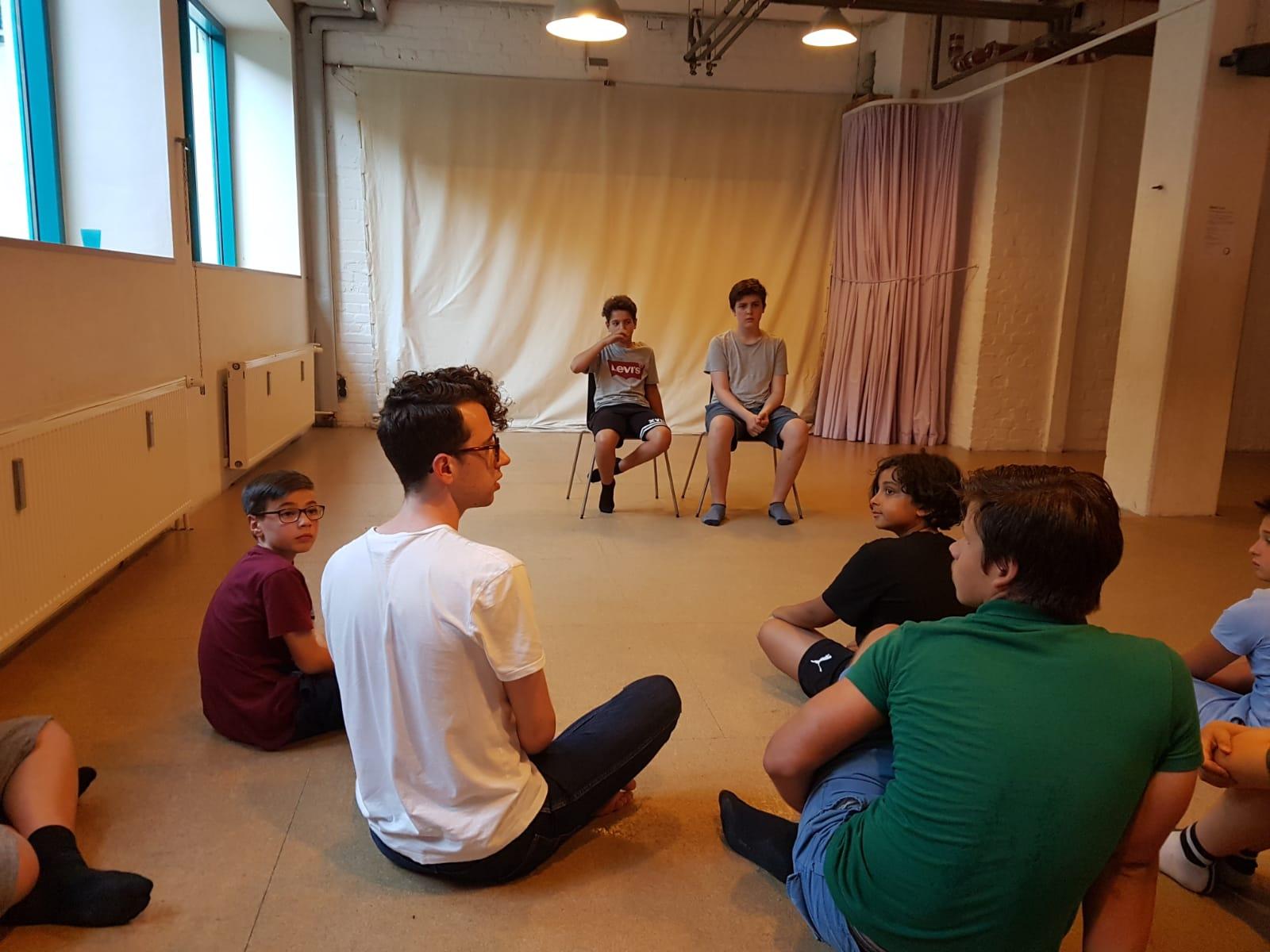 3 Schüler der TASK Schaupielschule spielen im Film Kippa mit und erhalten den Nachwuchspreis. Das Casting zu dem Film fand sogar im TASK Unterricht statt. © copyright by task